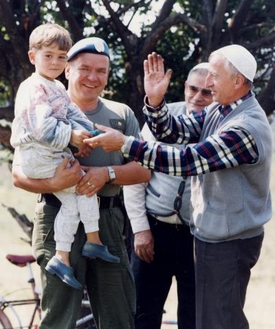 Mauri YK-tehtävissä mm. Bosniassa